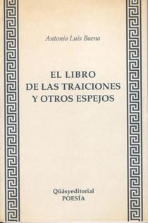 """Portada del libro """"El libro de las traiciones y otros espejos"""" (1997)"""