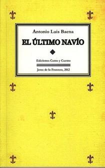 """Portada del libro """"El último navío"""" (2012)"""