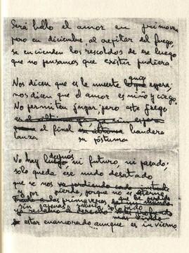 Manuscrito de Antonio Luis Baena