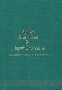 Antología de la poesía de Antonio Luis Baena